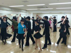 ダンスサークルJ 中級クラス様子